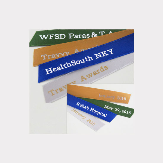 company printed ribbons
